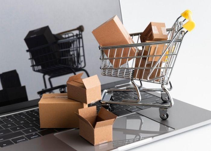crea una tienda online