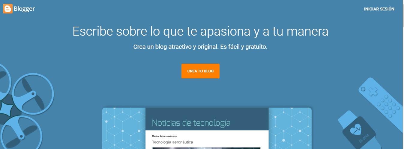 crear blog blogger