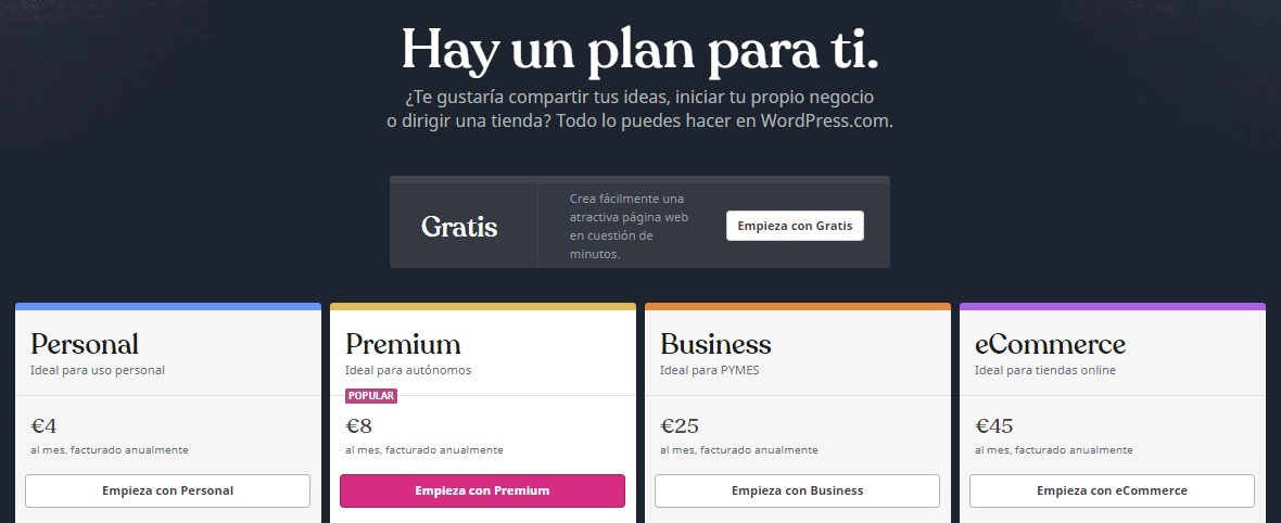 planes wordpress.com